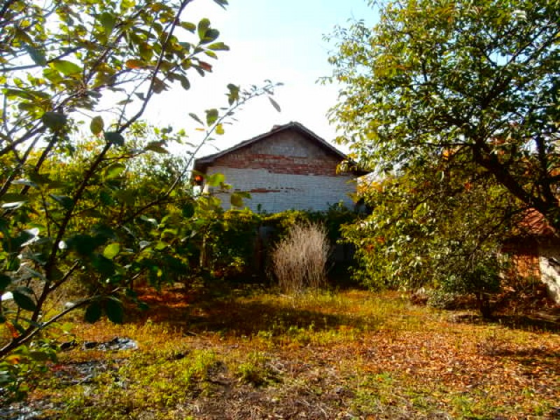 Къща с двор село Виноградец